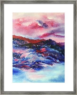 Alpenglow Framed Print