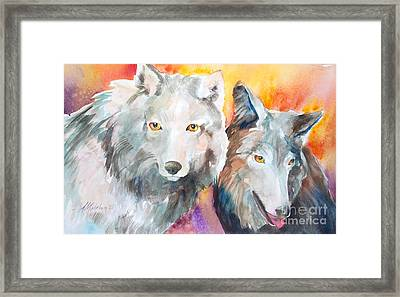 Alpha Beta Framed Print