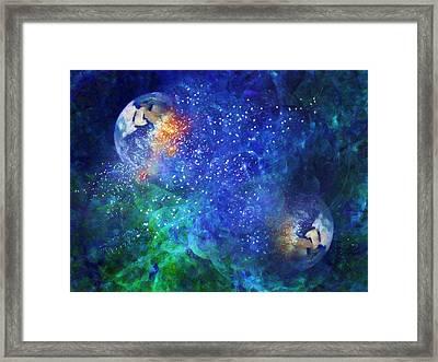 Alpha Centauri Abstract Moods Framed Print