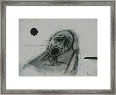 Alpha Et Omega Framed Print by Arnold  Isbister