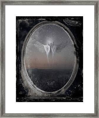 Omega Framed Print by Victor Slepushkin