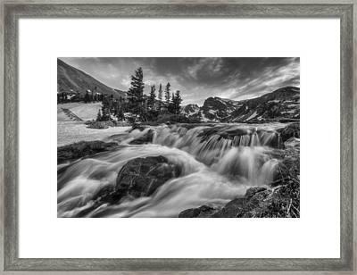 Alpine Flow Framed Print by Darren White