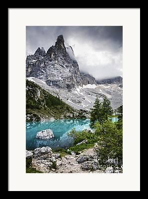 Alpine Lake Framed Prints