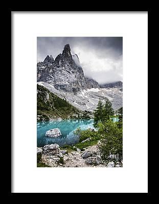 Alps Framed Prints