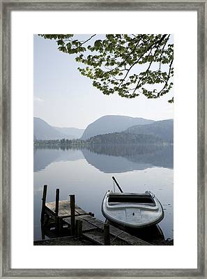 Framed Print featuring the photograph Alpine Moods by Ian Middleton