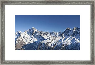 Alpine Panorama Framed Print
