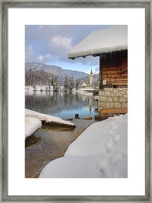 Alpine Winter Clarity Framed Print