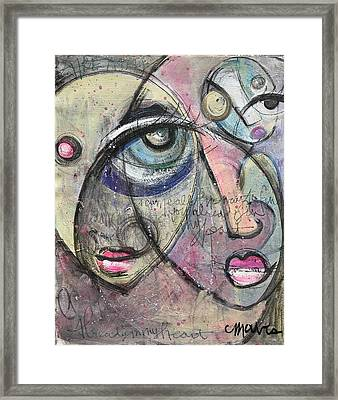 Already In My Heart Framed Print by Laurie Maves ART