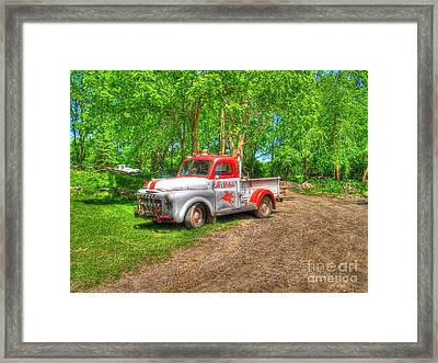 Al's Mobile Framed Print by Jimmy Ostgard