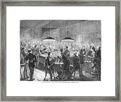 Alsace-lorraine, 1872 Framed Print by Granger