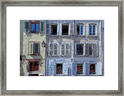 Alsation Windows Framed Print by Joachim G Pinkawa