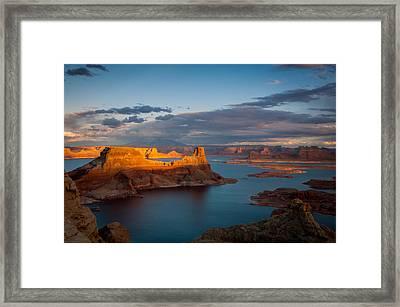 Alstrom Point Lake Powell Framed Print