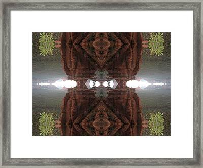 Altar Of Synchronicity Framed Print