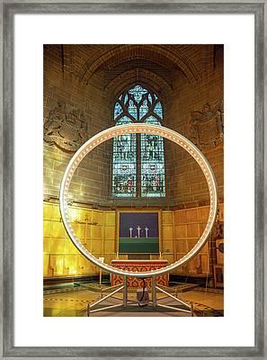 Altar Framed Print by Svetlana Sewell