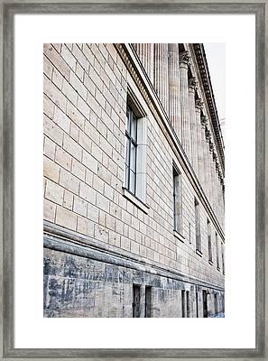 Alte Nationalgalerie Framed Print by Tom Gowanlock
