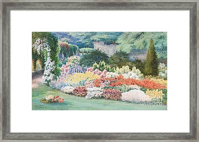 Altenstein Castle Garden Framed Print by MotionAge Designs