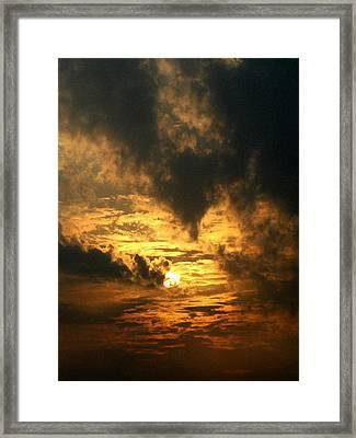 Alter Daybreak Framed Print
