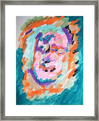 Alter Ego Framed Print by Esther Newman-Cohen