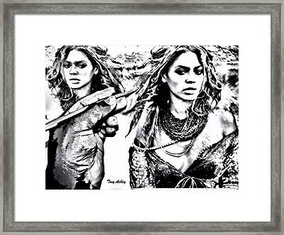 Alter Ego Framed Print by Tony Ashley