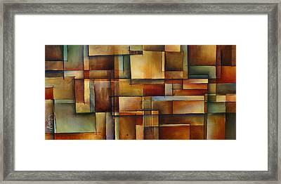 'alter The Truth' Framed Print by Michael Lang