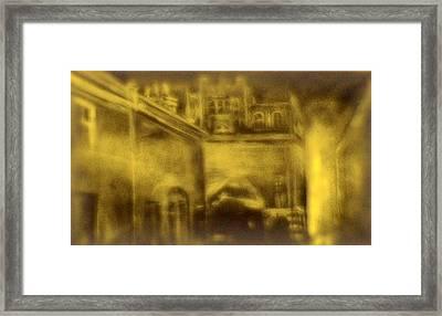 Altered Image 23 Framed Print by Cameron Hampton PSA