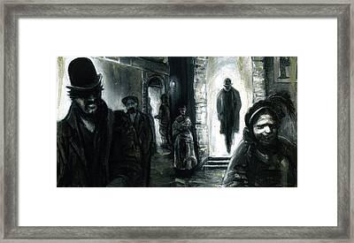 Altered Image 3 Framed Print by Cameron Hampton PSA