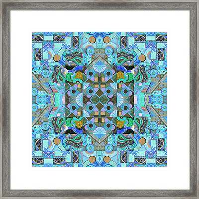 Altered Perceptions 1 Framed Print by Helena Tiainen