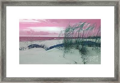 Alternate Beachscape  Framed Print