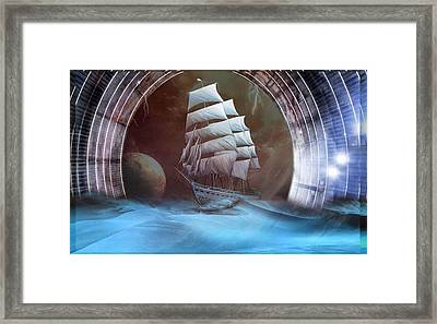 Alternate Perspectives Framed Print by Mario Carini