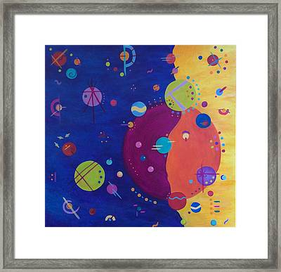 Alternate Universe Framed Print