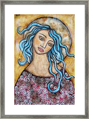 Altessa Framed Print by Rain Ririn