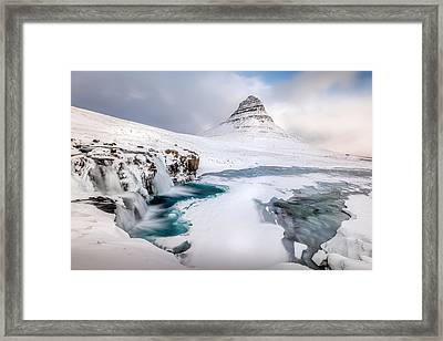 Although It's A Famous Subject Framed Print by Curdin W?thrich