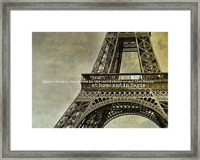 Altitude 95 Quote Framed Print by JAMART Photography