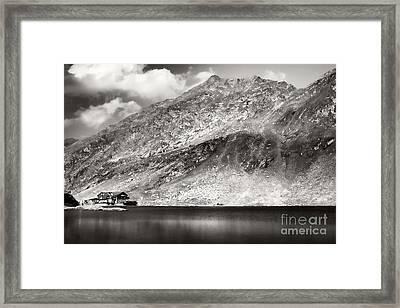 Altitude Framed Print by Gabriela Insuratelu