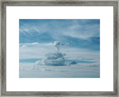 Altitude Framed Print by Tom Druin