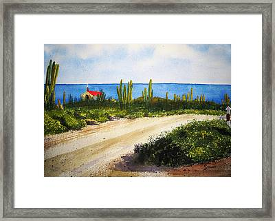 Alto Vista Chapel Framed Print
