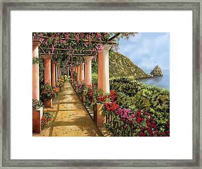 Altre Colonne Sul Golfo Framed Print