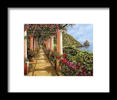 Promenades Framed Prints