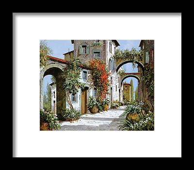 Tuscany Framed Prints