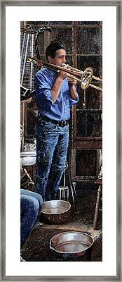 Altri Suoni Framed Print by Guido Borelli