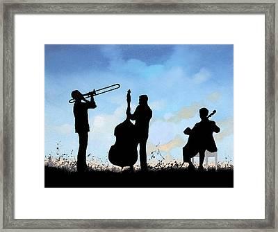 Altro Trio Framed Print by Guido Borelli