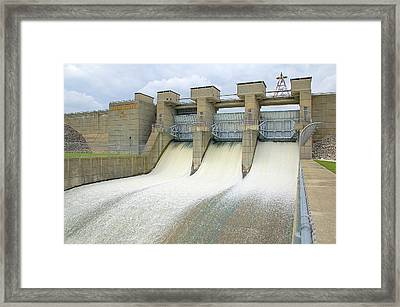 Alum Creek State Park Framed Print by Monica Lewis