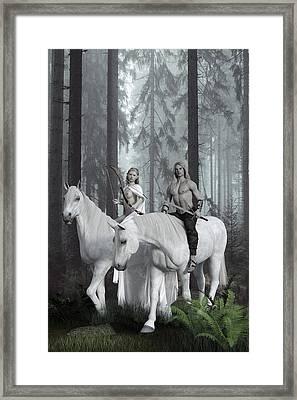 Alver Framed Print by Andy Renard
