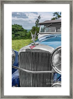Alvis Speed 25 Framed Print by Adrian Evans