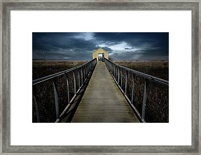 Alviso, California Framed Print