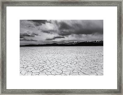 Framed Print featuring the photograph Alvord Desert by Cat Connor