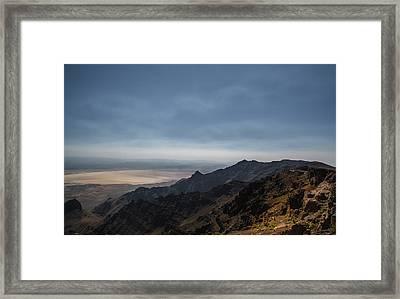 Alvord Overlook Framed Print by Joe Hudspeth