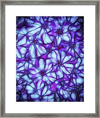 Always A Flower Framed Print