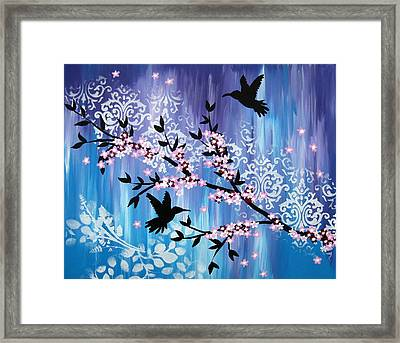 Always By My Side Framed Print by Cathy Jacobs