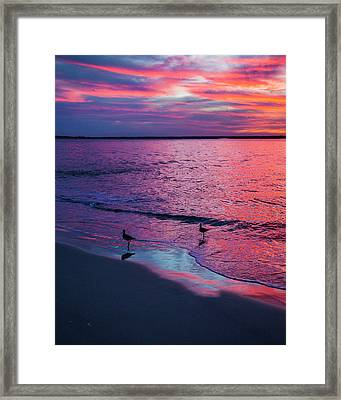 Always By Your Side  Framed Print by Betsy Knapp